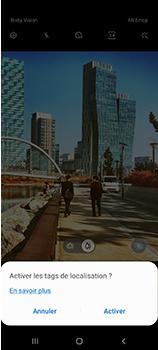 Samsung Galaxy A70 - Photos, vidéos, musique - Créer une vidéo - Étape 5