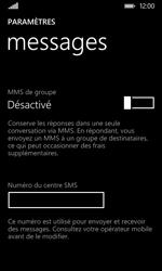 Nokia Lumia 530 - SMS - Configuration manuelle - Étape 8