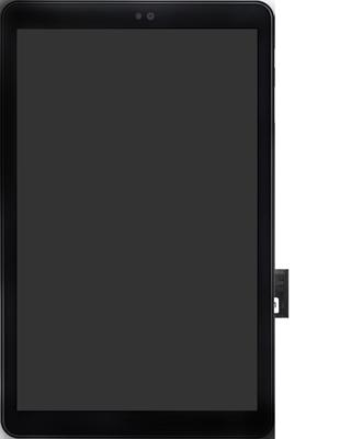 Samsung galaxy-tab-a-10-5-sm-t595-android-pie - Instellingen aanpassen - SIM-Kaart plaatsen - Stap 5