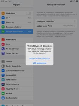 Apple iPad Pro 9.7 - iPadOS 13 - WiFi - Comment activer un point d'accès WiFi - Étape 7