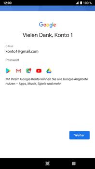 Sony Xperia XZ2 Premium - Android Pie - Apps - Konto anlegen und einrichten - Schritt 19