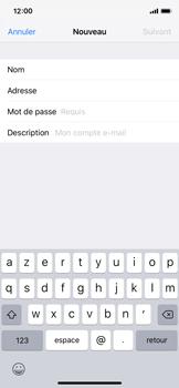 Apple iPhone X - iOS 12 - E-mail - Configuration manuelle - Étape 9
