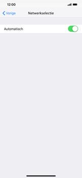 Apple iPhone XS Max - Netwerk selecteren - Handmatig een netwerk selecteren - Stap 6