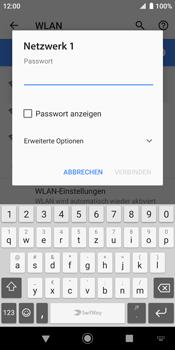 Sony Xperia XZ2 - Android Pie - WLAN - Manuelle Konfiguration - Schritt 8