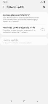 Samsung Galaxy A30 - software - update installeren zonder pc - stap 5