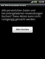 HTC Wildfire - Fehlerbehebung - Handy zurücksetzen - 9 / 10