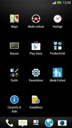 HTC One - Applications - Créer un compte - Étape 3