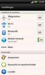 HTC C525u One SV - Internet - Uitzetten - Stap 4