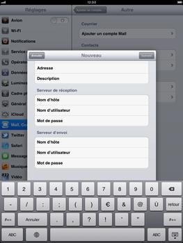 Apple iPad 2 - E-mail - Configurer l