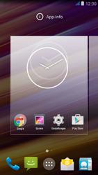 Wiko jimmy - Startanleitung - Installieren von Widgets und Apps auf der Startseite - Schritt 5