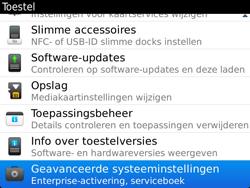 BlackBerry 9900 Bold Touch - Instellingen - ontvangen via SMS - Stap 5