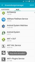 Samsung Galaxy S6 - Apps - Eine App deinstallieren - Schritt 9