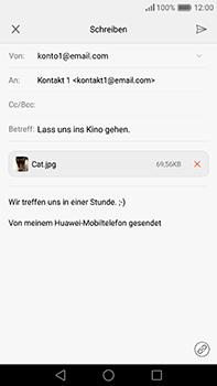 Huawei P9 Plus - E-Mail - E-Mail versenden - 16 / 18