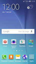 Samsung Galaxy S6 - E-mails - Ajouter ou modifier un compte e-mail - Étape 1