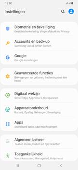 Samsung Galaxy A30 - toestel resetten - back-up maken met jouw account - stap 6