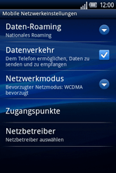 Sony Ericsson Xperia X8 - MMS - Manuelle Konfiguration - 7 / 17