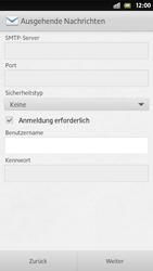Sony Xperia S - E-Mail - Manuelle Konfiguration - Schritt 13
