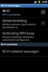 Samsung S5690 Galaxy Xcover - wifi - handmatig instellen - stap 6
