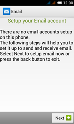 Alcatel OT-4033X Pop C3 - E-mail - Manual configuration - Step 6