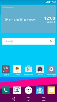 LG G4 Stylus (LG-H635) - Instellingen aanpassen - Fabrieksinstellingen terugzetten - Stap 1