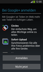 Samsung S7275 Galaxy Ace 3 - Apps - Konto anlegen und einrichten - Schritt 17