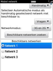 BlackBerry 9800 Torch - netwerk en bereik - gebruik in binnen- en buitenland - stap 7