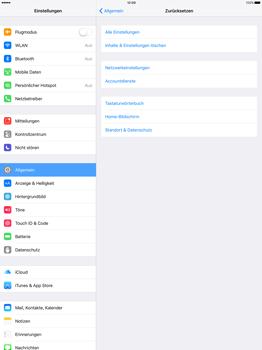 Apple iPad Pro 12.9 inch - Fehlerbehebung - Handy zurücksetzen - Schritt 6