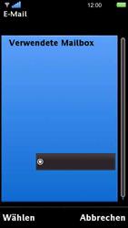 Sony Ericsson U5i Vivaz - E-Mail - Konto einrichten - Schritt 35