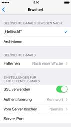 Apple iPhone 5 iOS 7 - E-Mail - Manuelle Konfiguration - Schritt 26