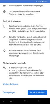 Samsung Galaxy Note9 - Apps - Konto anlegen und einrichten - Schritt 14