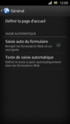 Sony Xperia U - Internet et roaming de données - Configuration manuelle - Étape 20