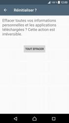 Sony Xperia XZ Premium - Aller plus loin - Restaurer les paramètres d'usines - Étape 7