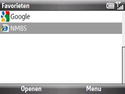 HTC S521 Snap - Internet - Internetten - Stap 12