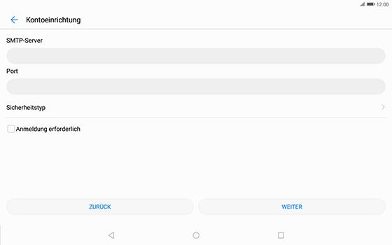 Huawei MediaPad T3 (10.0) LTE - E-Mail - Konto einrichten - Schritt 17