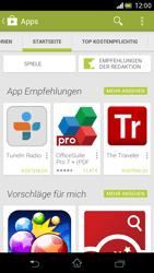Sony Xperia V - Apps - Installieren von Apps - Schritt 5