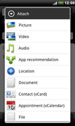 HTC S510e Desire S - E-mail - Sending emails - Step 9