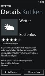Nokia Lumia 800 - Apps - Konto anlegen und einrichten - 8 / 22