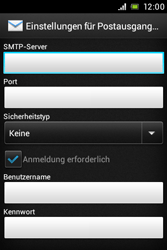 Sony Xperia Miro - E-Mail - Konto einrichten - Schritt 11