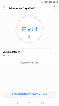 Huawei P10 Plus - Logiciels - Installation de mises à jour - Étape 5