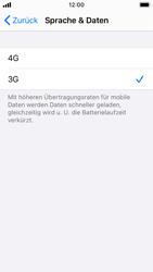 Apple iPhone SE - iOS 14 - Netzwerk - So aktivieren Sie eine 4G-Verbindung - Schritt 6