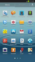 Samsung Galaxy S III LTE - Startanleitung - Installieren von Widgets und Apps auf der Startseite - Schritt 4