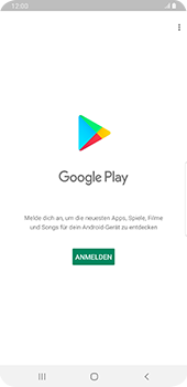 Samsung Galaxy S9 Plus - Android Pie - Apps - Einrichten des App Stores - Schritt 4