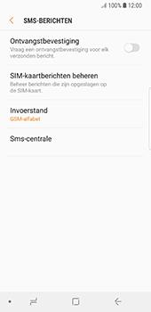 Samsung Galaxy S8 - Android Oreo (SM-G950F) - SMS - Handmatig instellen - Stap 8