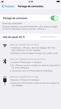 Apple iPhone 6 Plus - iOS 11 - Internet et connexion - Partager votre connexion en Wi-Fi - Étape 8