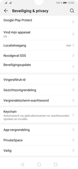 Huawei P30 - Toestel - Stel Zoek mijn mobiel in - Stap 4