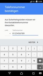 Sony Xperia XZ - Android Nougat - Apps - Konto anlegen und einrichten - Schritt 8