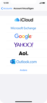 Apple iPhone X - iOS 13 - E-Mail - 032c. Email wizard - Outlook - Schritt 5