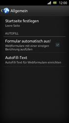 Sony Xperia U - Internet und Datenroaming - Manuelle Konfiguration - Schritt 20