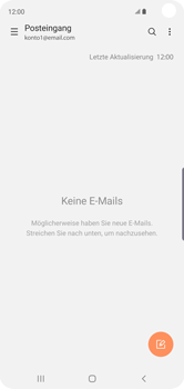 Samsung Galaxy S10 - E-Mail - Manuelle Konfiguration - Schritt 16