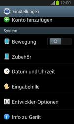 Samsung Galaxy Express - Software - Installieren von Software-Updates - Schritt 5